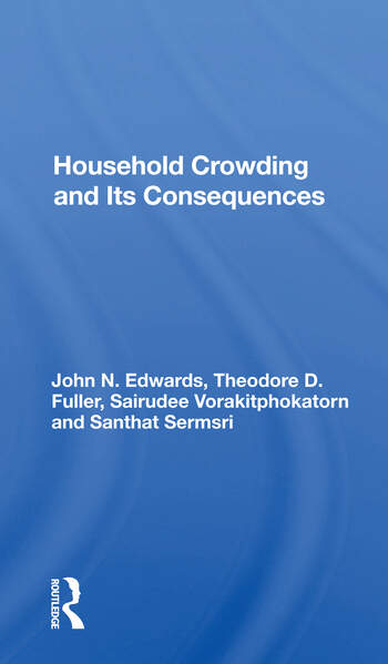 Household Crowding And Its Consequences book cover