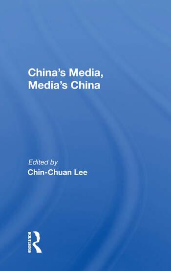 China's Media, Media's China book cover