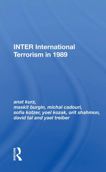 Inter: International Terrorism In 1989 book cover