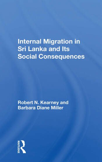 Internal Migration In Sri Lanka And Its Social Consequences book cover