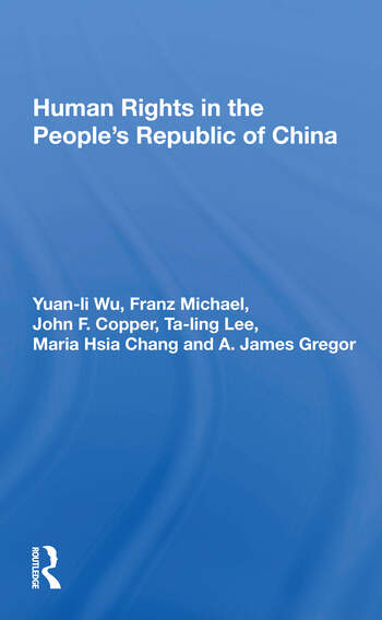 Human Rights In The People's Republic Of China book cover