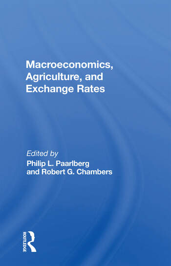 Macroeconomics, Agriculture, And Exchange Rates book cover