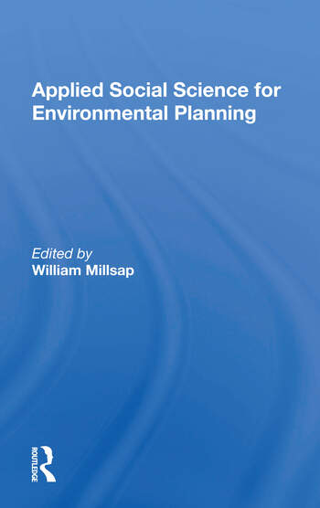 Applied Social Science For Environmental Planning book cover
