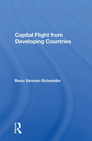 Capital Flight From Developing Countries book cover