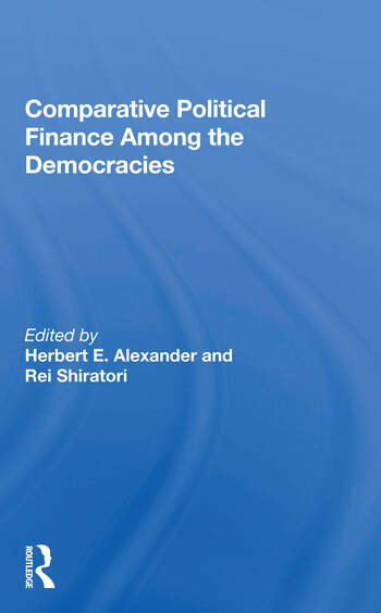 Comparative Political Finance Among The Democracies book cover
