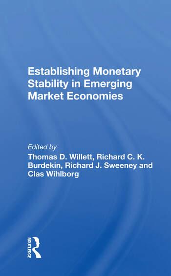 Establishing Monetary Stability In Emerging Market Economies book cover