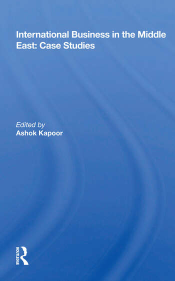 International Business In The Middle East Case Studies book cover