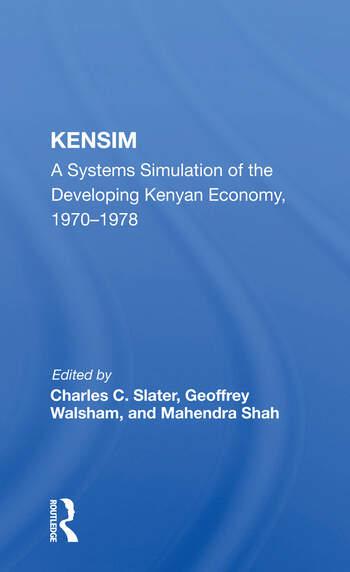 Kensim Syst Dev Kenya/h book cover