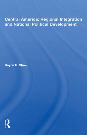 Central America Integrat/h book cover