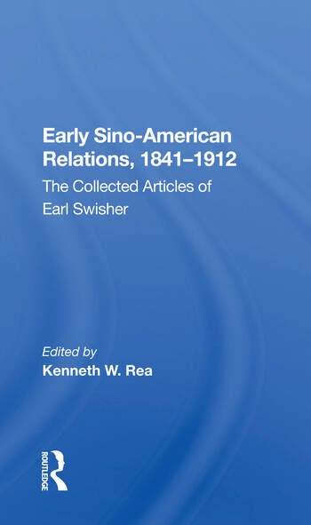 Early Sino-amer Relation/h book cover