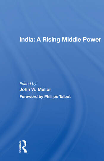 India: A Rising Middle Power book cover