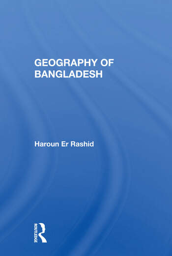 Geography Of Bangladesh book cover