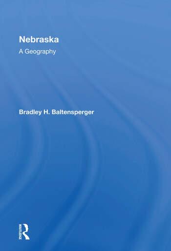 Nebraska A Geography book cover