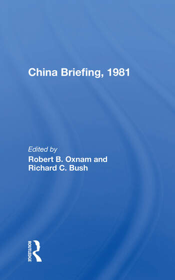 China Briefing, 1981 book cover