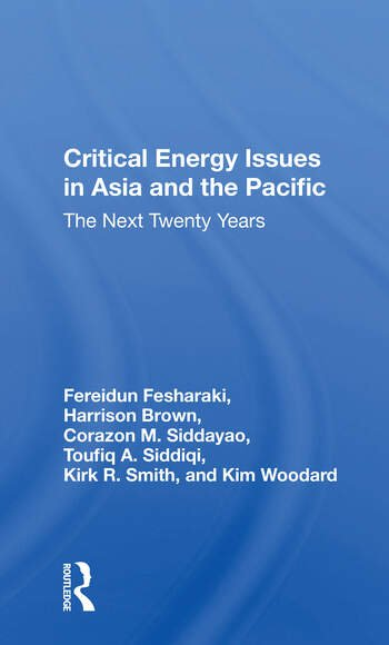 Critical Energy Issues In Asia And The Pacific The Next Twenty Years book cover