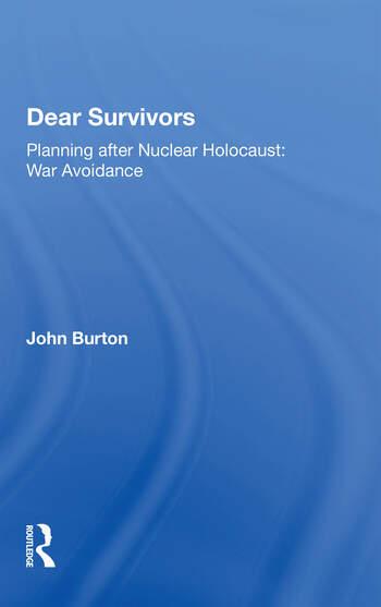 Dear Survivors book cover
