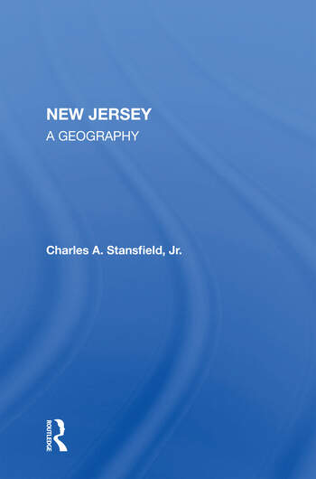 New Jersey A Geography book cover
