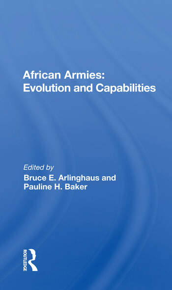 African Armies Evolution And Capabilities book cover