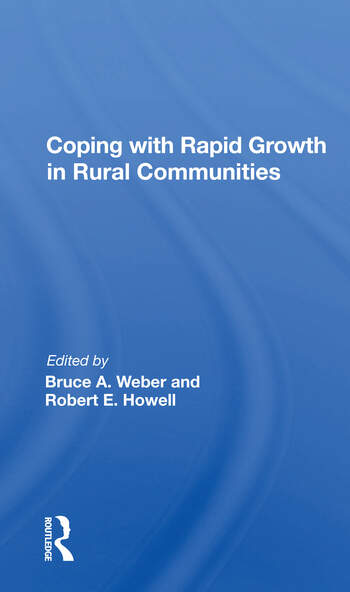 Coping With Rapid Growth In Rural Communities book cover