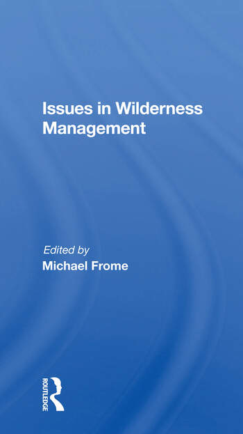 Issues In Wilderness Management book cover