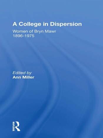 A College In Dispersion/h book cover