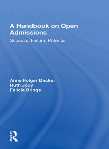 Handbook On Open Admissi/h book cover