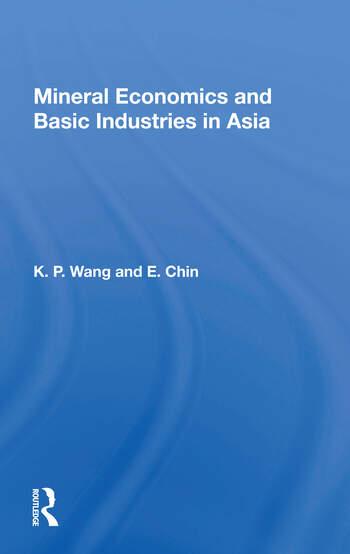 Mineral Econ Asia/h book cover