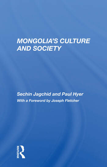 Mongolia's Culture And Society book cover