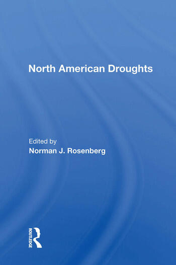 North American Droughts book cover