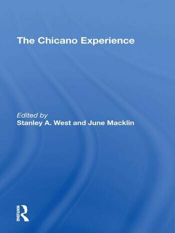 Chicano Experience/hs book cover