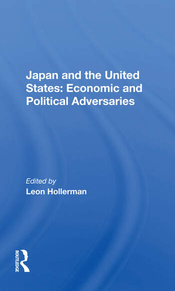 Japan And The United States Economic And Political Adversaries book cover