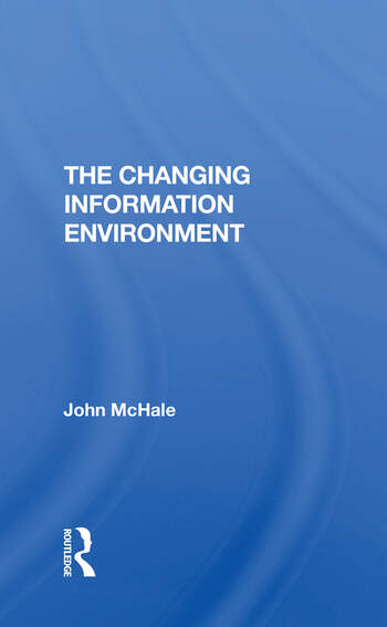 Changing Info Environment/h book cover