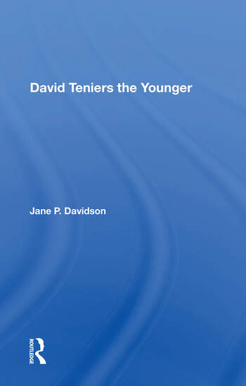 David Teniers The Younger book cover