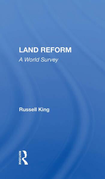 Land Reform A World Survey book cover