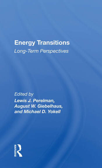 Energy Transitions Long-term Perspectives book cover