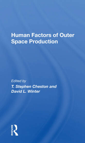 Human Factors Of Outer Space Production book cover