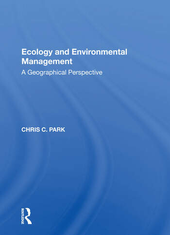 Ecology & Environ Mgmt/h book cover