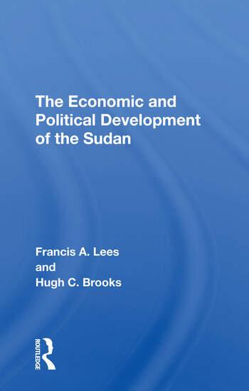 Economic-pol Dev Sudan/h book cover