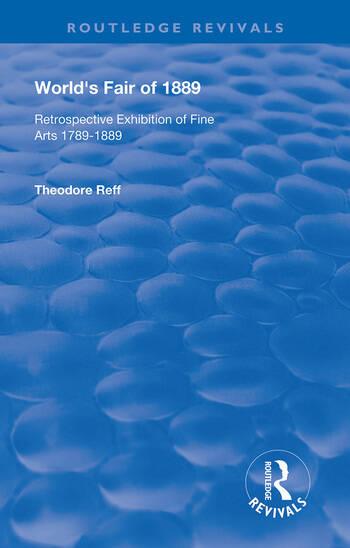 World's Fair of 1889 Retrospective Exhibition of Fine Arts 1789-1889 book cover