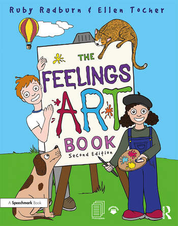 The Feelings Artbook Promoting Emotional Literacy Through Drawing book cover
