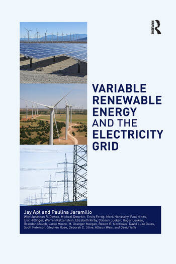 Variable Renewable Energy and the Electricity Grid book cover