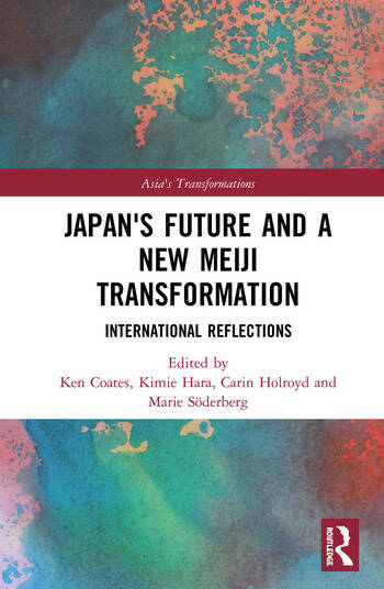 Japan's Future and a New Meiji Transformation International Reflections book cover