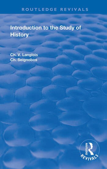 Introduction to the Study of History book cover