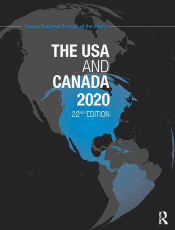 The USA and Canada 2020 book cover