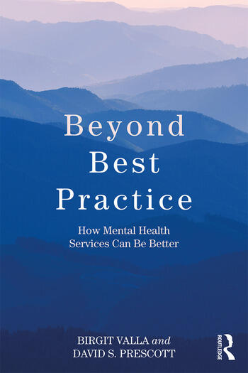 Beyond Best Practice How Mental Health Services Can Be Better book cover