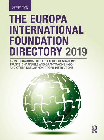 The Europa International Foundation Directory 2019 book cover