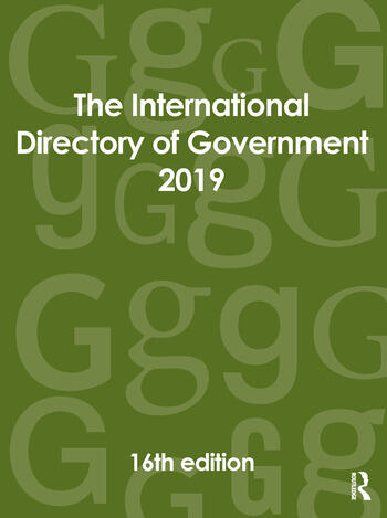 The International Directory of Government 2019 book cover