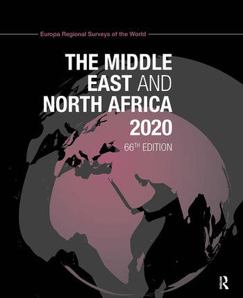 The Middle East and North Africa 2020 book cover