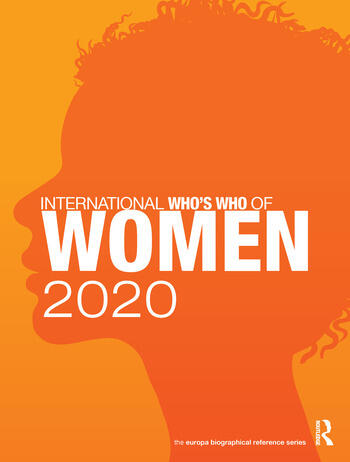 International Who's Who of Women 2020 book cover