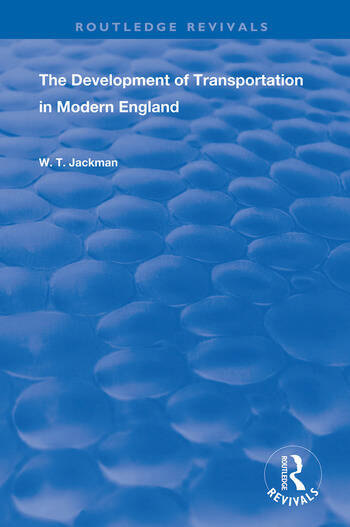 The Development of Transportation in Modern England book cover